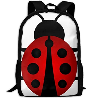 SZYYMM Design Lady Bug Oxford Cloth Fashion Backpack,Travel/Outdoor Sports/Camping/School, Adjustable Shoulder Strap Storage Backpack For Women And Men