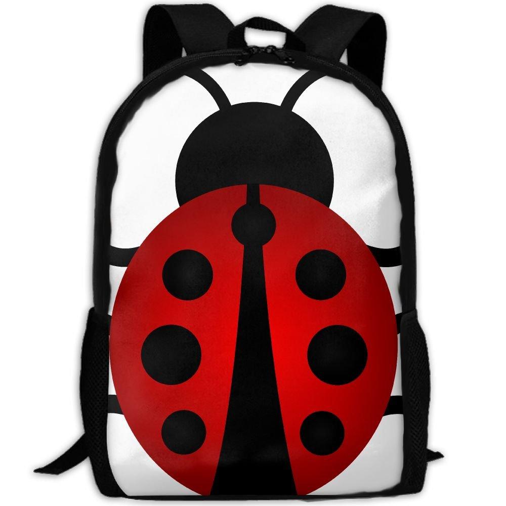 1ab1cc44ca cheap SZYYMM Design Lady Bug Oxford Cloth Fashion Backpack