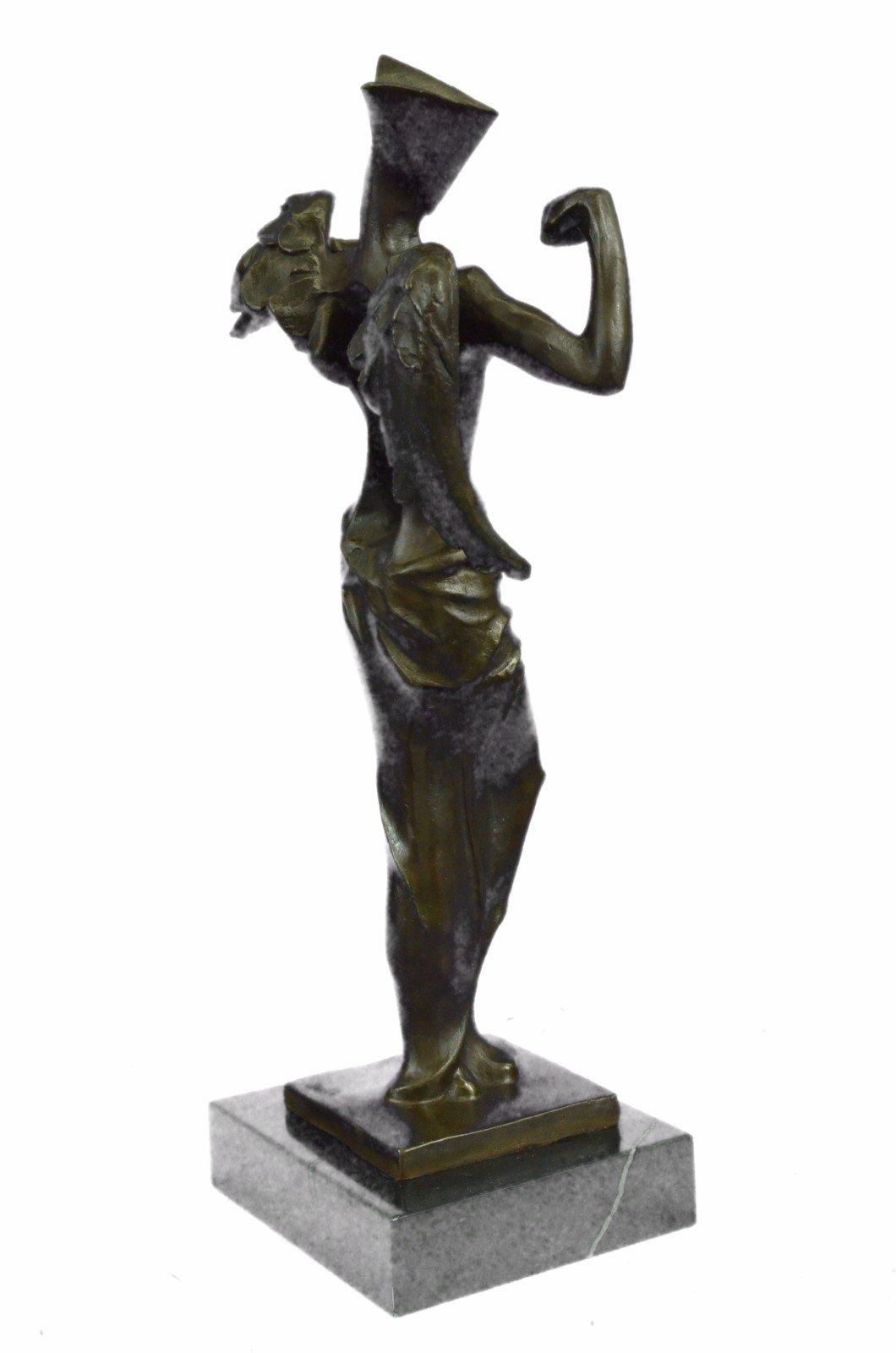 Handmade European Bronze Sculpture Salvator Dali Surrealistic Angel Abstract Modern Art Art Bronze Statue -UKXN-2546-Decor Collectible Gift by Bronzioni (Image #5)