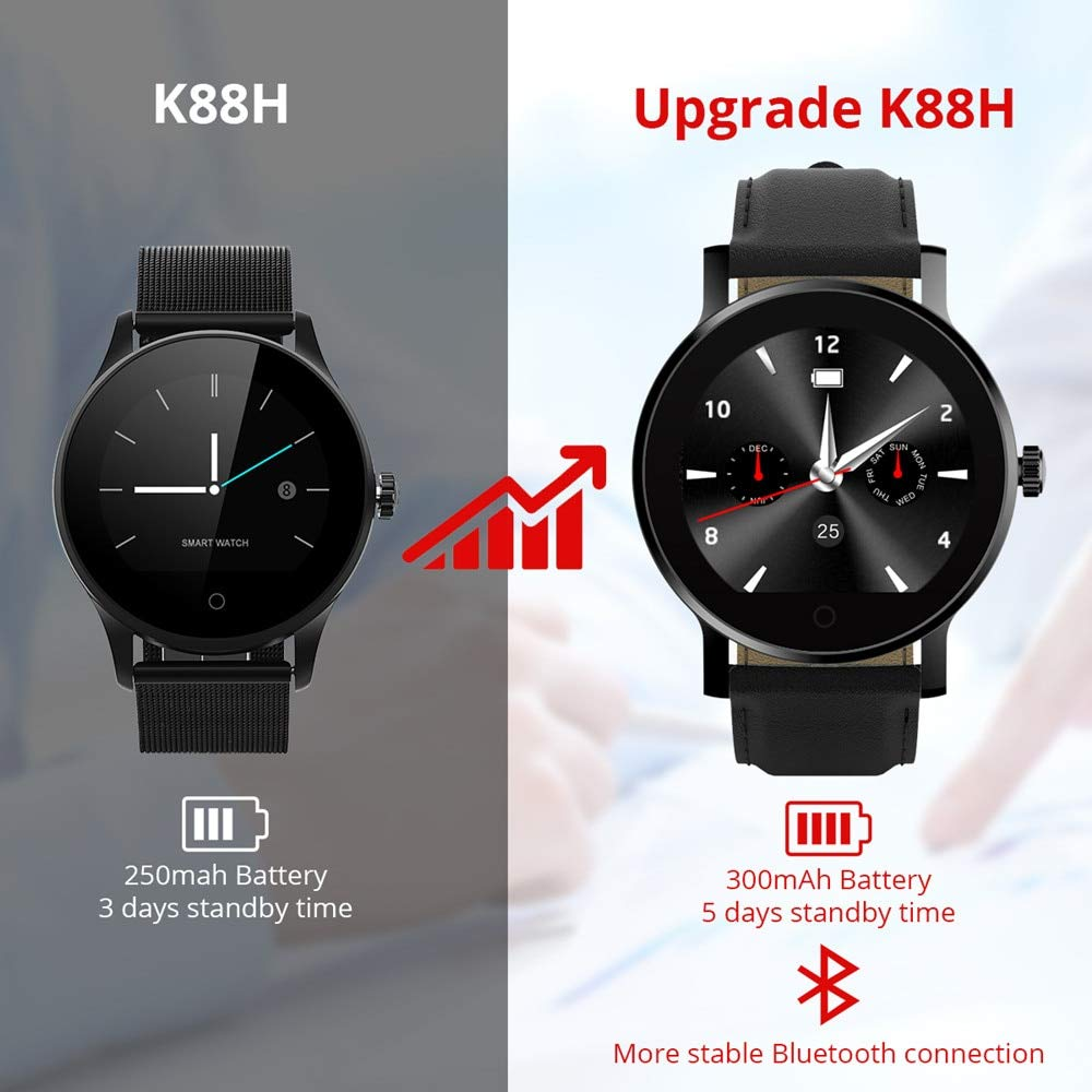 Amazon.com: Grass 135 diggro k88h Plus Smart Watch hd ...
