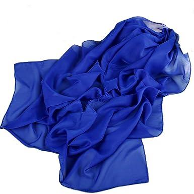 160 50cm Vivid Colour X001 Fashion Ladies Scarves Chiffon Scarf Womens Shawls