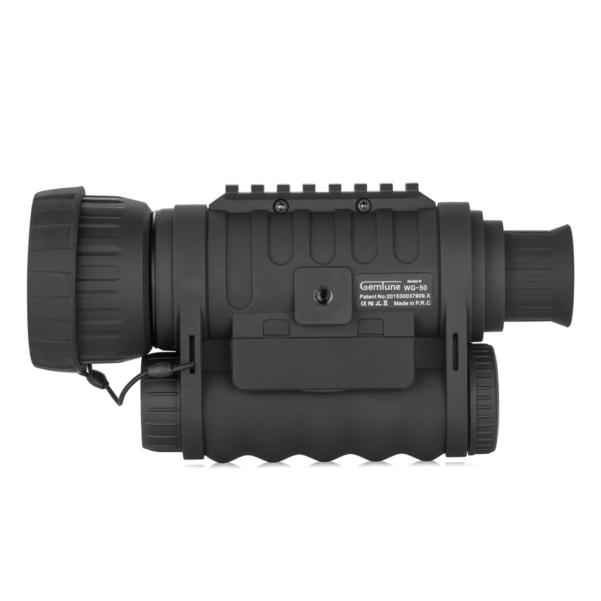 Gemtune WG-50 6x50mm HD Digital Night Vision Monocular with 1.5 inch TFT LCD Camera and Camcorder Function Takes 5mp Photo 720p Video from 350m Distance for night watching or observation by GemTune (Image #2)