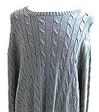 Polo Ralph Lauren Men's Big and Tall Sweater 4XLT Tall Night Blue