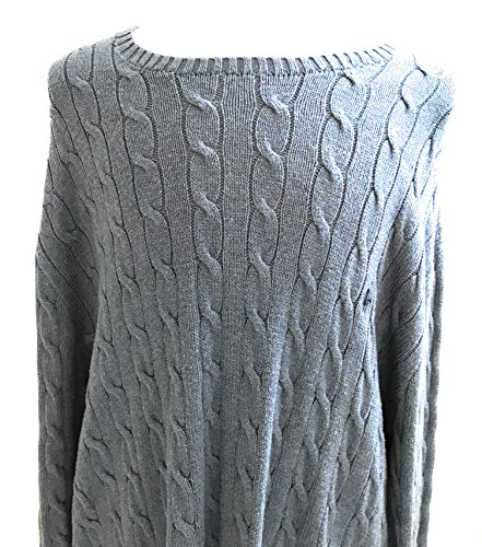Polo Ralph Lauren Men's Big and Tall Sweater 4XLT Tall Night Blue by Polo Ralph Lauren