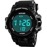 POTO Digital Sports Watch HOT Sale Men Electronic Waterproof LED Military Army Sport Wrist Watch