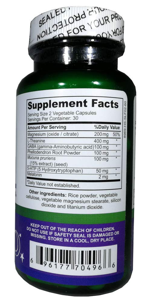 Sleep Well, Advanced Sleep Formula from Global Nutraceutics with Melatonin, GABA,...