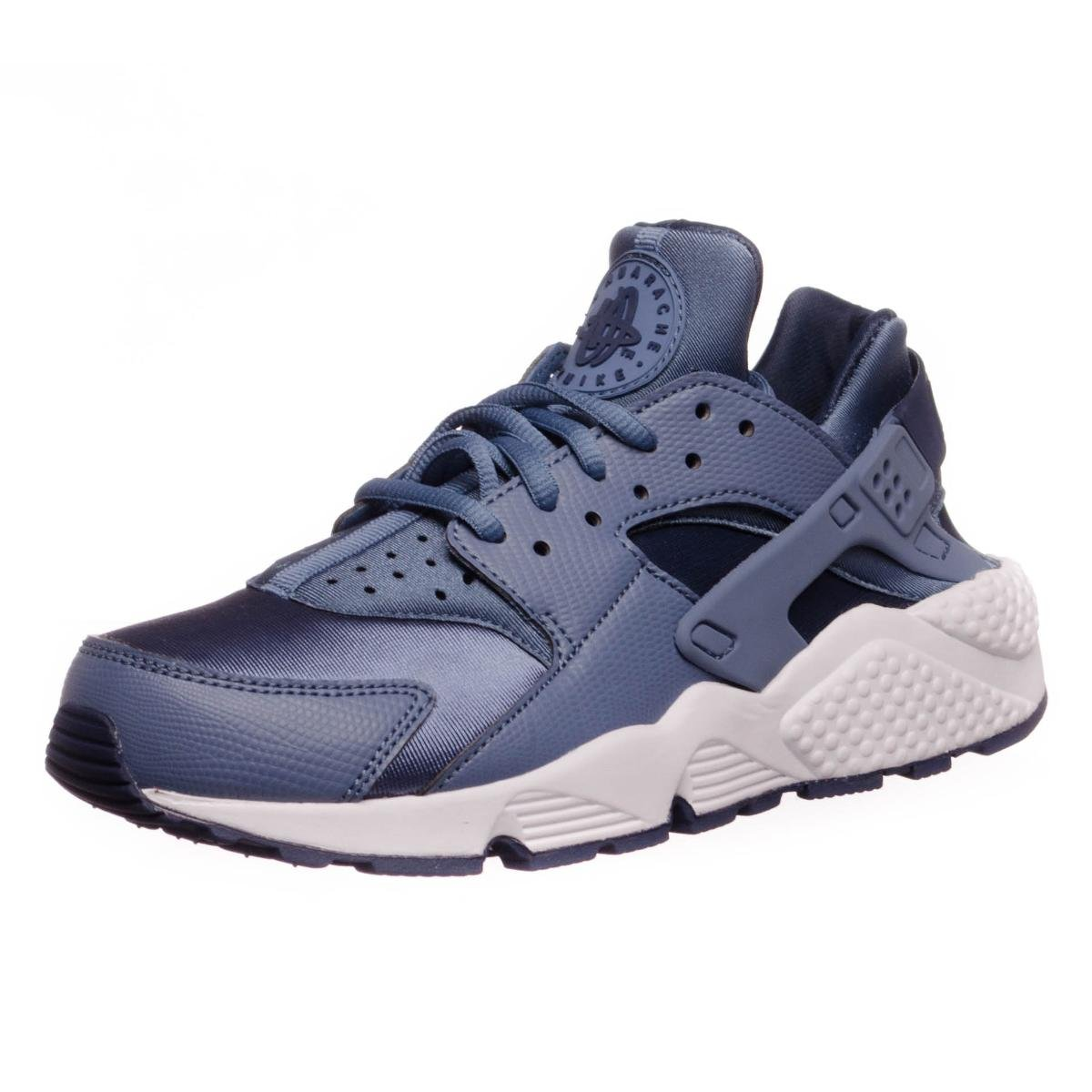 competitive price 9b584 a4325 Galleon - Nike Womens Air Huarache Trainers 634835 Sneakers Shoes (US 8,  Ocean Fog Midnight Navy White 406)