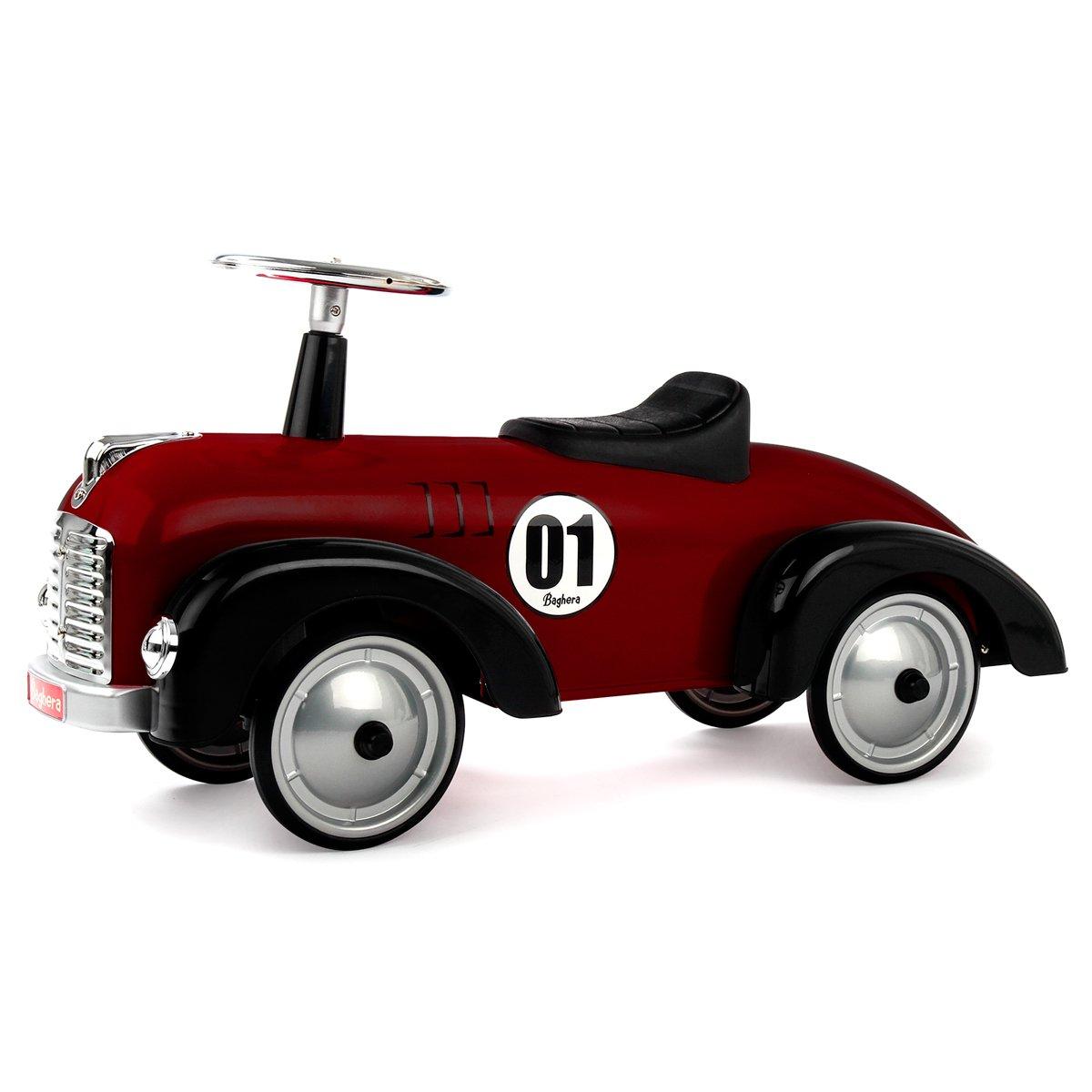BAGHERA SPEEDSTER DARK RED RIDE ON CAR