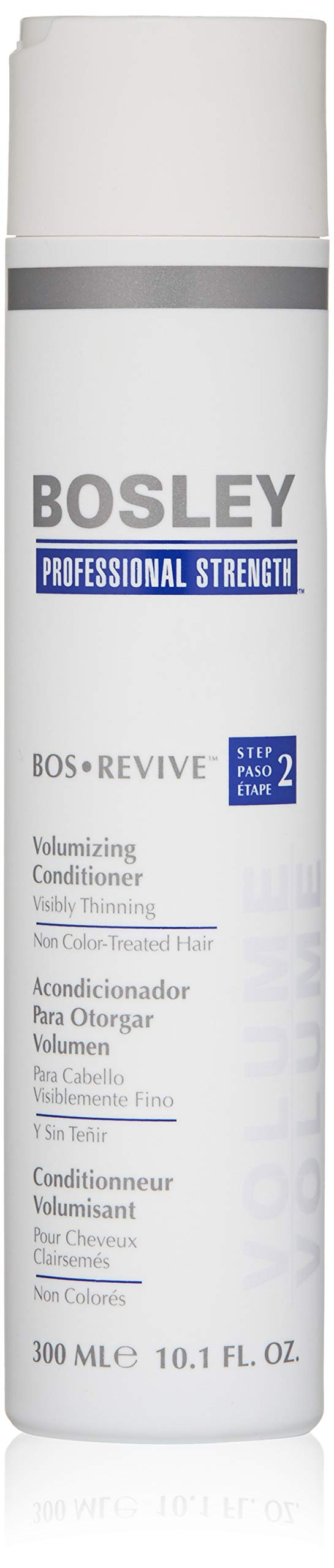 Bosley Bos Revive Volumizing Conditioner for Visibly Thinning Non Color-Treated Hair, 10.1 Ounce by Bosley Professional Strength