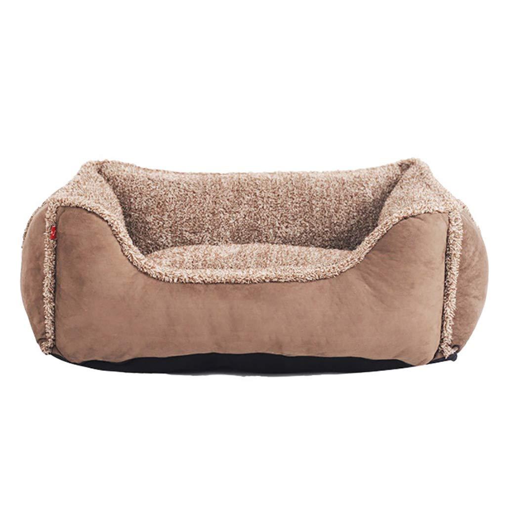 acquista online oggi HR Medium Kennel, Warm Winter Materasso, Rimovibile e Lavabile Lavabile Lavabile Four Season Pet Nest (Marronee) (colore   Marronee, Dimensioni   S-47  40cm)  consegna gratuita
