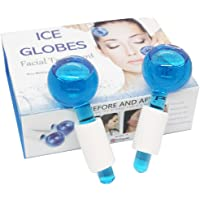 Facial Ice Globe,Smart Magic Cool Face Roller Ball, Facial Massage Tools for Face and Neck