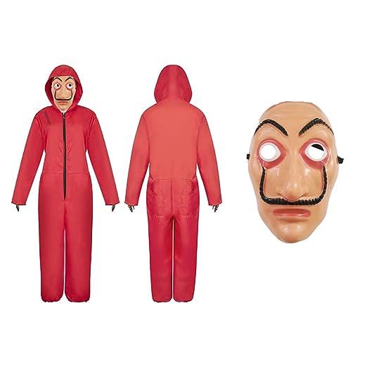 Cisne 2013, S.L. Disfraz Pack Careta y Mono para Halloween de ...