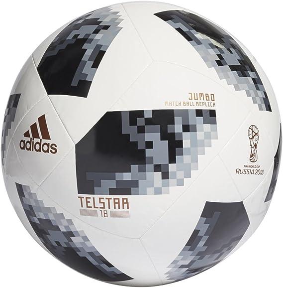 barba Realmente agujero  Amazon.com : adidas FIFA World Cup 2018 Russia Jumbo Soccer Ball : Sports &  Outdoors