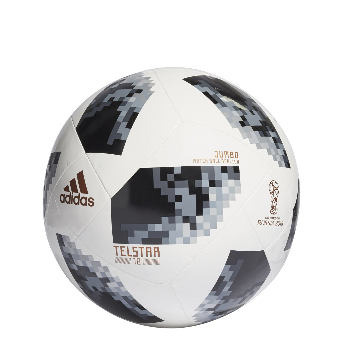 1abbd1a9822 Amazon.com   adidas FIFA World Cup 2018 Russia Jumbo Soccer Ball   Sports    Outdoors