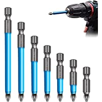 Details about  /5X S2 PH2 Magnetic Non-slip Screwdriver Bit Set 1//4 Hex Shank Lengthen 127mm