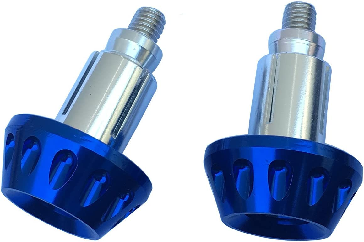 Blue CNC Aluminum Handlebar End Weights Caps Plugs for 2003 Honda Rebel 250