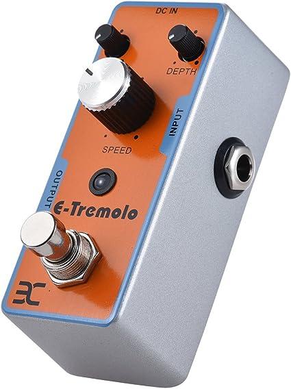 Fesjoy efecto guitarra EX Tren Guitarra Eléctrica Efecto Pedal ...