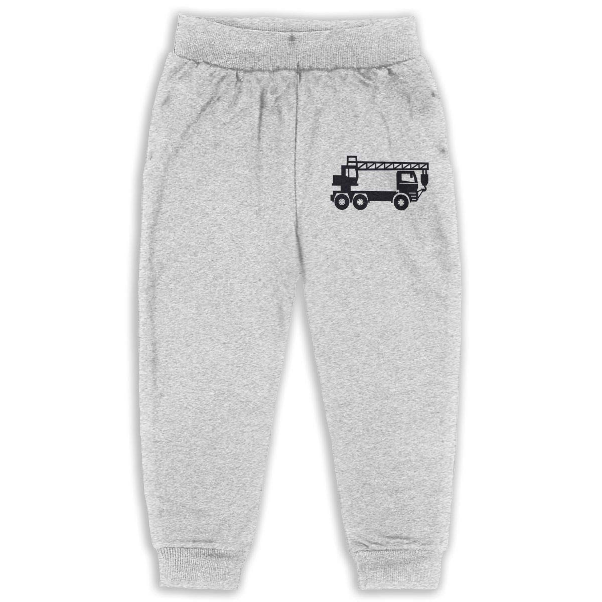 AaAarr Toddlers Crane Drawstring Sweatpants for Boys and Girls