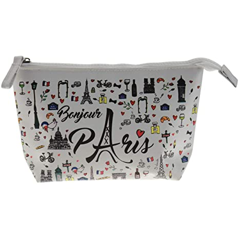 Incidence Paris Bonjour Estuches, 20 cm, Blanco (Blanc ...