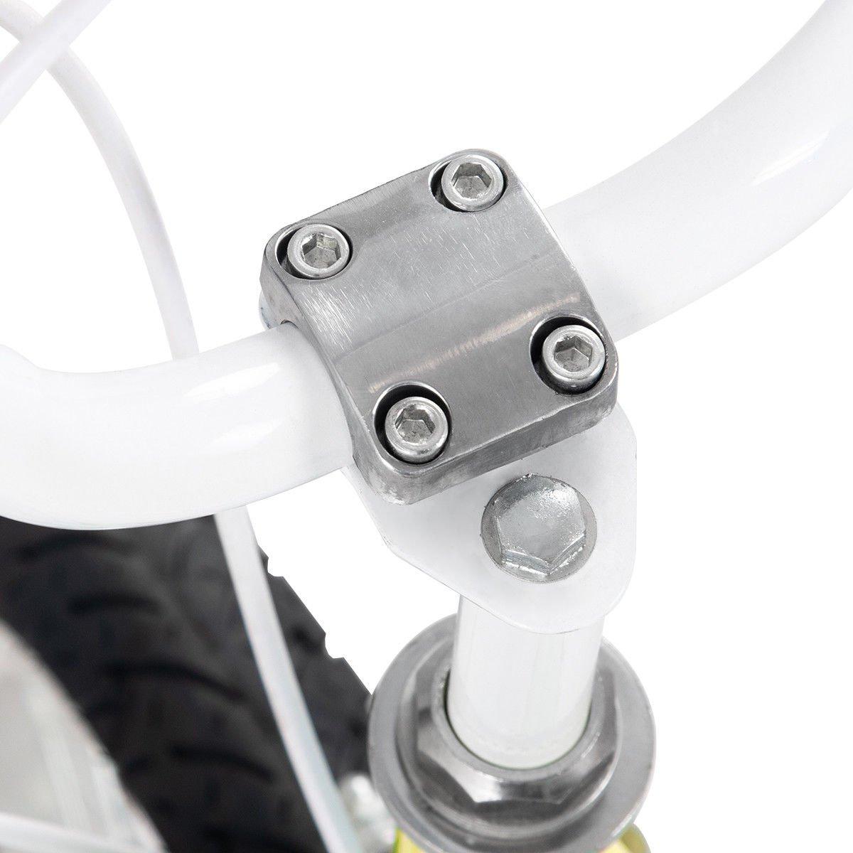 FDInspiration Yellow 45'' x 31.5'' Metal Frame Kids Bike w/Training Wheels with Ebook by FDInspiration (Image #7)
