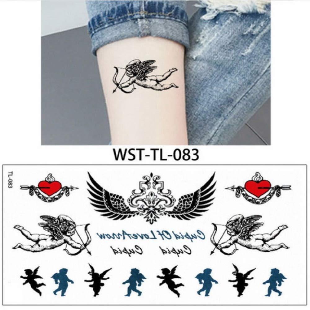 Modeganqing 4 Piezas de Tatuaje Temporal de Moda Sexy Mandala ...
