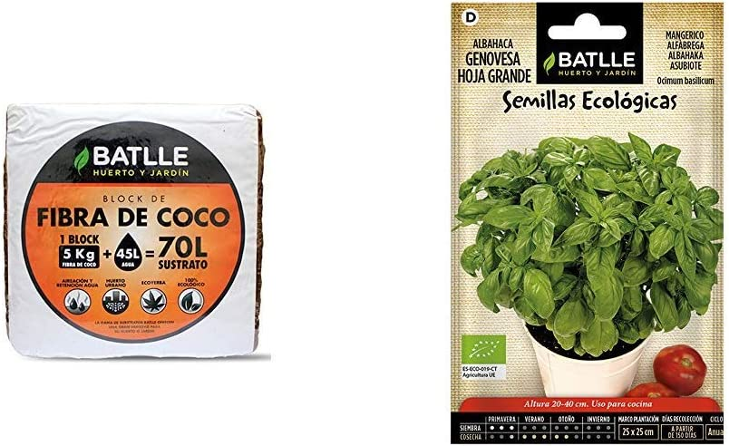 Sustratos Ecológicos Brick de Fibra de Coco 650g Batlle + Trato ...