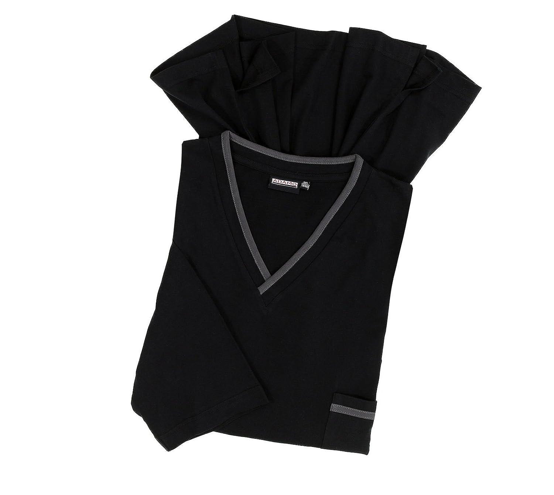 Leichtes Herren Herren Herren Nachthemd in schwarz in großen Größen von 3XL - 10XL B076CQRR5Y Nachtwsche & Bademntel Qualitätsprodukte 3df505