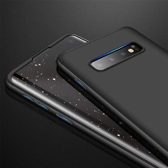 TXLING Funda Samsung Galaxy S10 Bumper 3 en 1 Estructura 360 ...