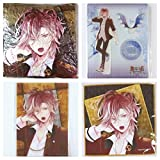 Rejet DIABOLIK LOVERS LOST EDEN lost paradise Lottery Type-B A prize cushion B Award acrylic figure stand C Awards micro-fiber cloth D Award clear bromide Comp set