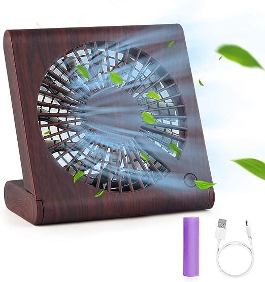 Hianjoo Ventiladores de Sobremesa, Mini Ventilador USB Grano de ...