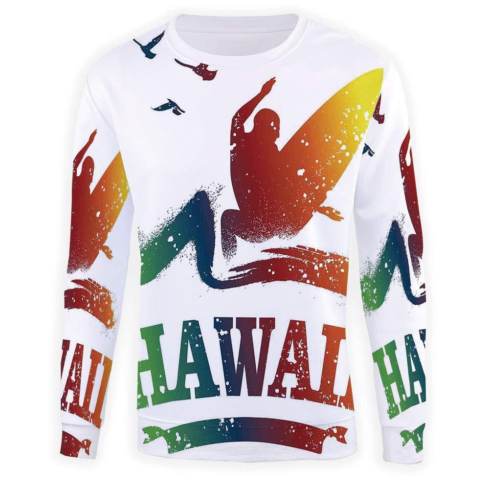 Mens Sunset Sweatshirt Pullover