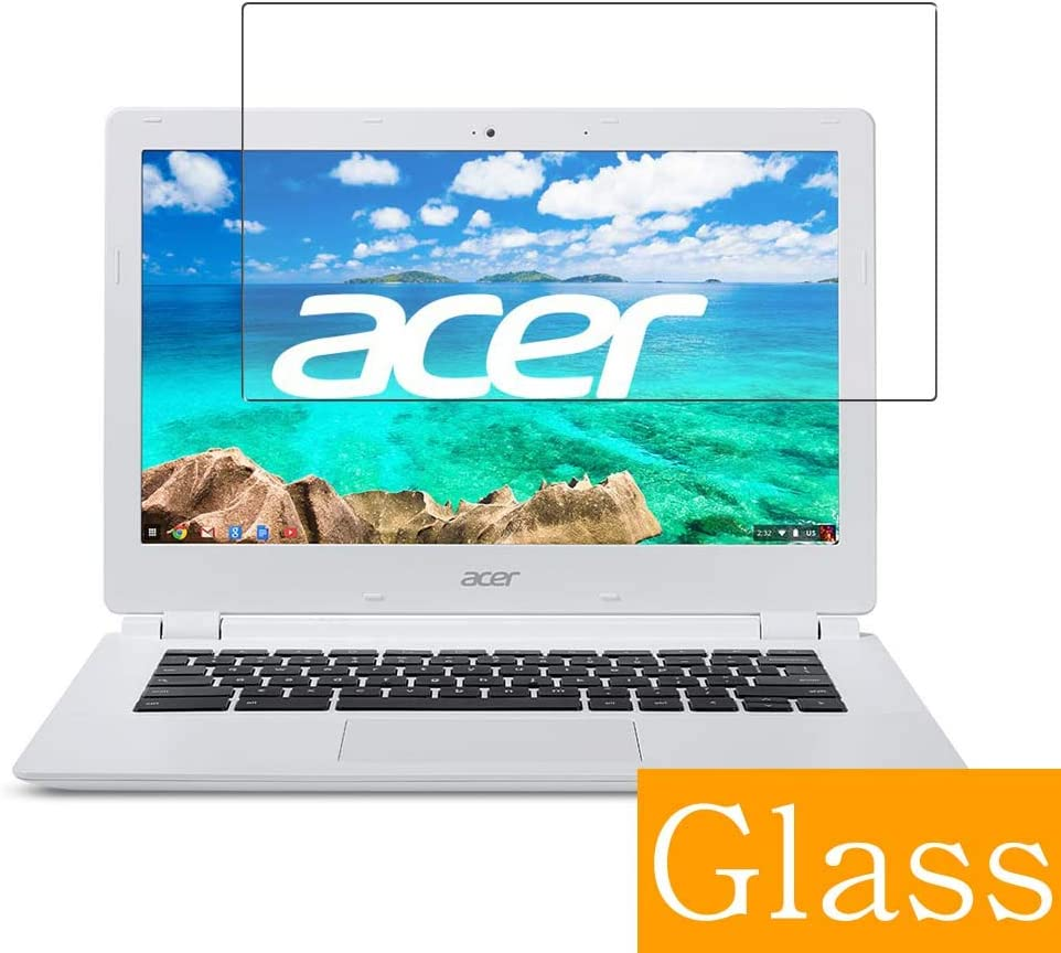 """Synvy Tempered Glass Screen Protector for Acer Chromebook CB3-111-H14M 11.6"""" Visible Area Protective Screen Film Protectors 9H Anti-Scratch Bubble Free"""