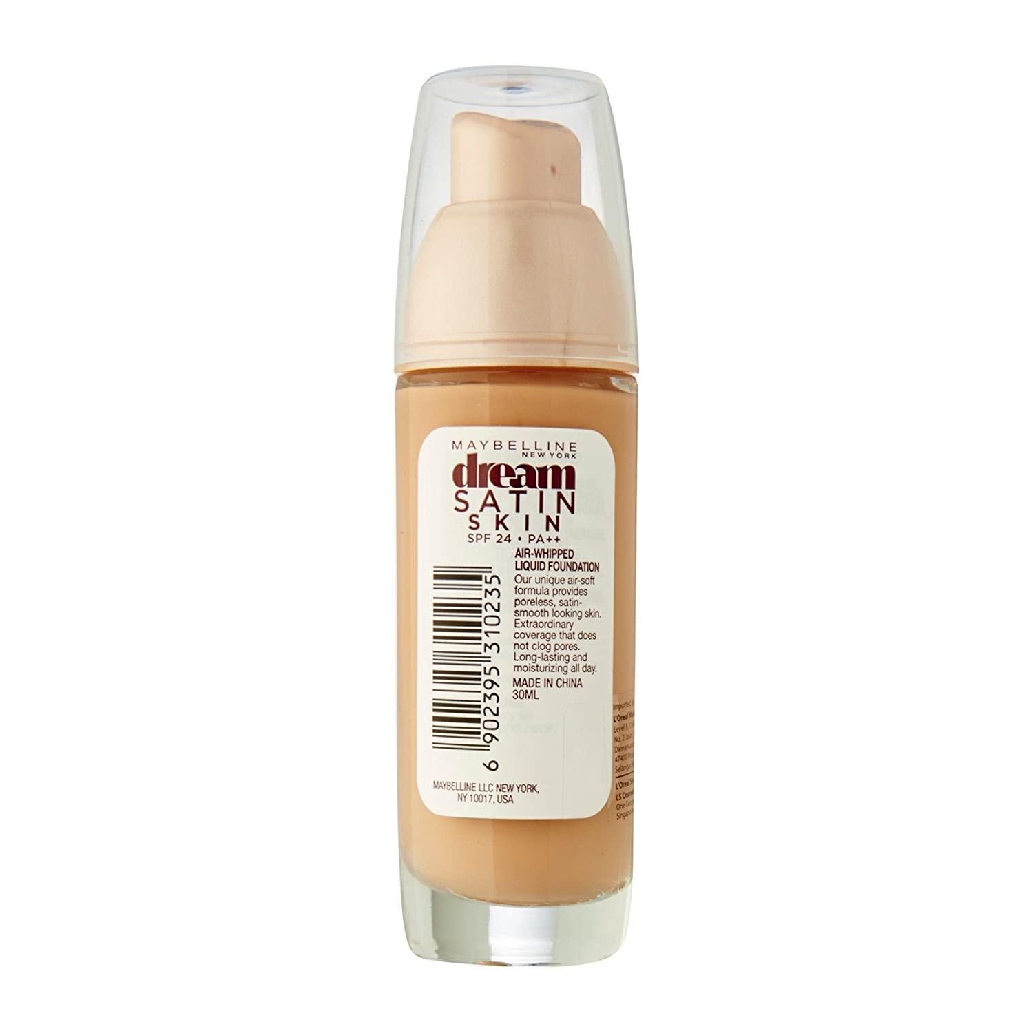 Buy Maybelline New York Dream Satin Foundation 30ml Online At Low Two Way Cake 01 Light Prices In India