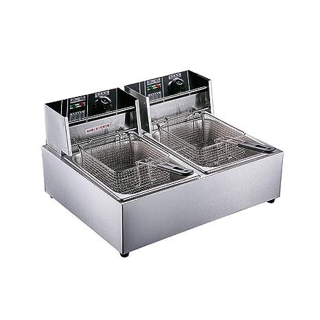 Amazon.com: Freidora eléctrica de mesa profesional de 5000 W ...