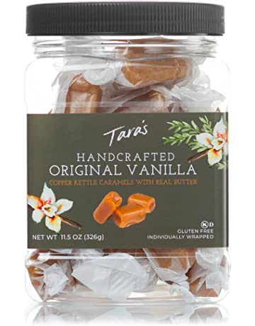 Taras Original Madagascar Vanilla Caramels, 11.5 Ounce