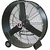 Q Standard 30 Industrial Direct Drive Drum Fan - 10380