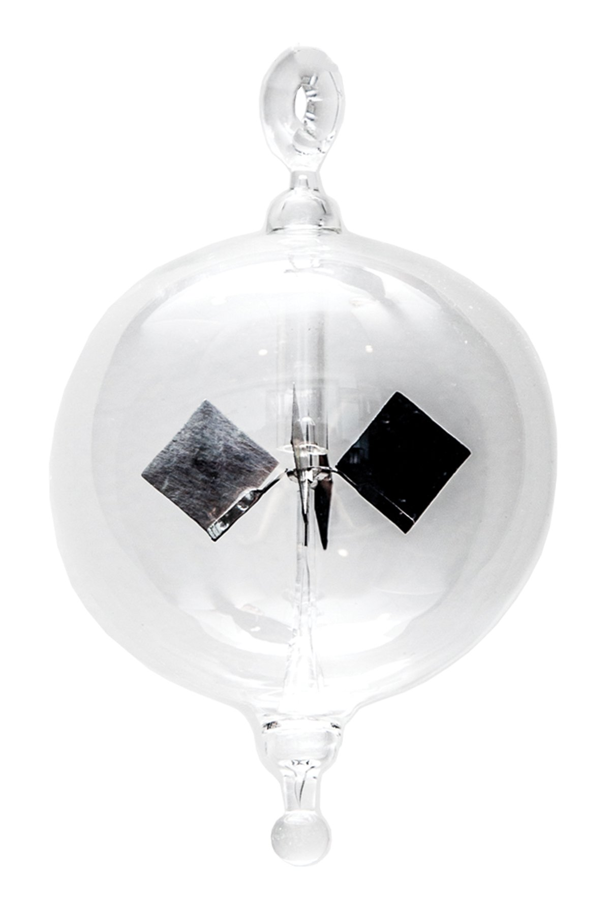 Glassic Gifts Hanging Crooks Light Mill Glass Ornament