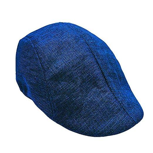Sombreros De Moda Sombrero De Invierno para Hombre Boina Cuadrada De Invierno para Hombre Boinas Gorro Boina para Mujer Boinas Cl/ásicas Boina Envejecida Sombrero De Pap/á