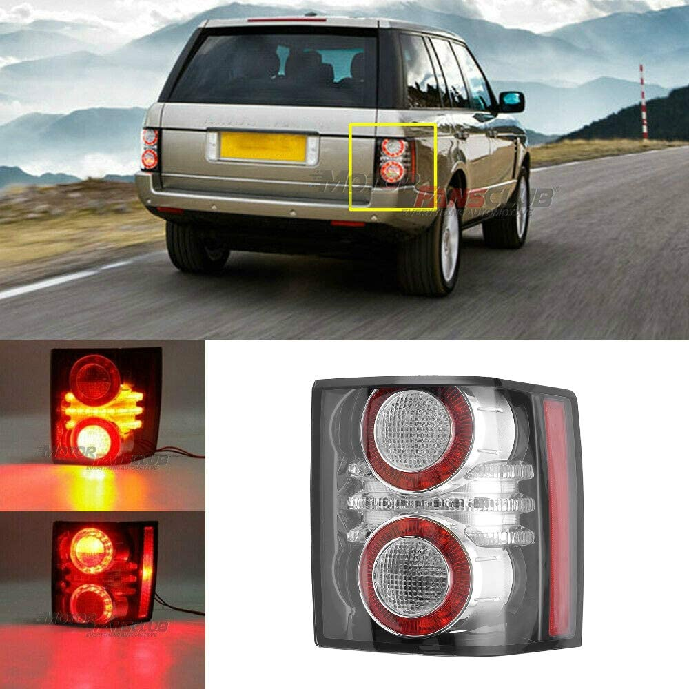 MotorFansClub Rear Tail Light Brake Lamp Fit for Compatible with Land Rover Range Rover L322 HSE 2010-2012 Right Side