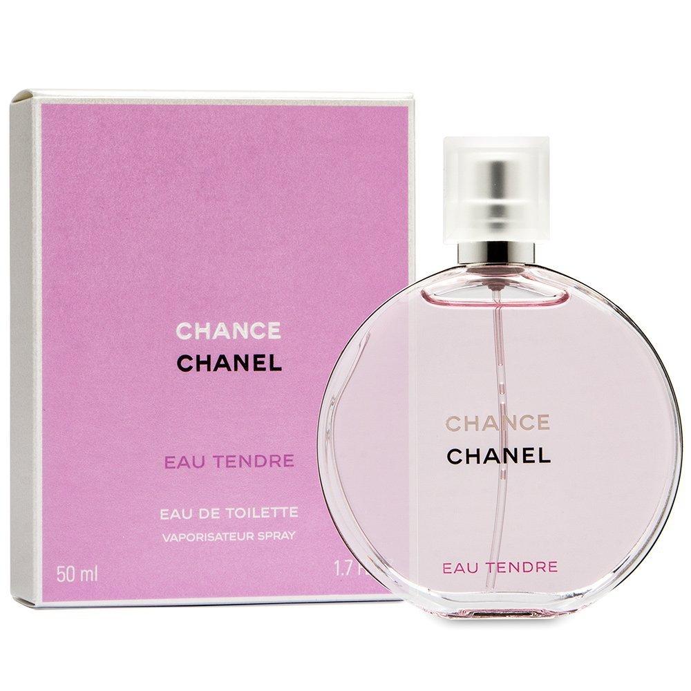 Chânel Chance Tendre Eau de Toilette Spray For Women 1.7 OZ./ 50 ml.