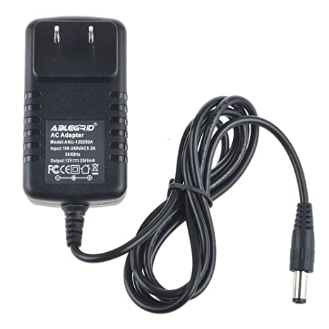 ABLEGRID 12 Volt Power Supply - 2.5 Amp Standard (12V 2.5A DC) Adapter