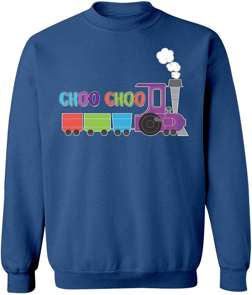 Sweatshirt Kellyww Choo Choo Railroad Train Track Design