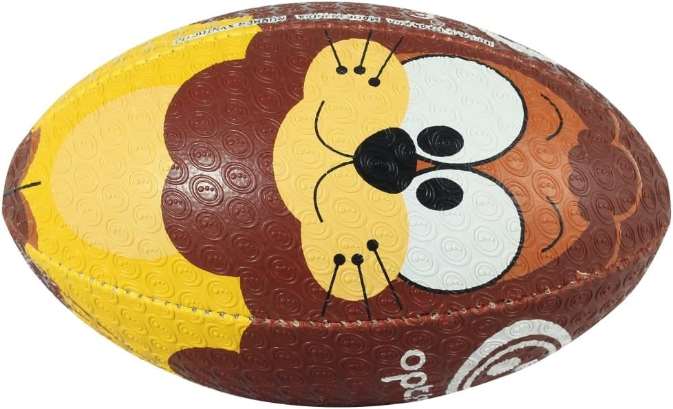 Multi Optimum Lion Rugby Ball Size 4
