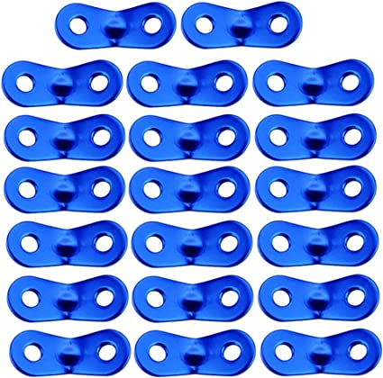 10//20pcs Pack Camping Tent Lock Cord Rope Runners Paracord Tensioners Outdoors