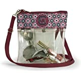 001065b4c817 Amazon.com   grinderPUNCH Small Clear Cross-Body Messenger Shoulder ...