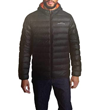 86794f21b3e4b Image Unavailable. Image not available for. Color: Eddie Bauer Men's  Cirruslite Hooded Down Jacket ...