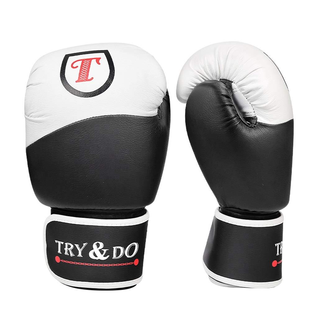 ボクシンググローブ品質PUレザー素材三田手袋ムエタイの戦いサンドバッグボクシンググローブ  10OZ