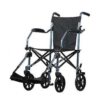 Silla de ruedas Manual, Ancianos, Discapacitados, Portátil ...