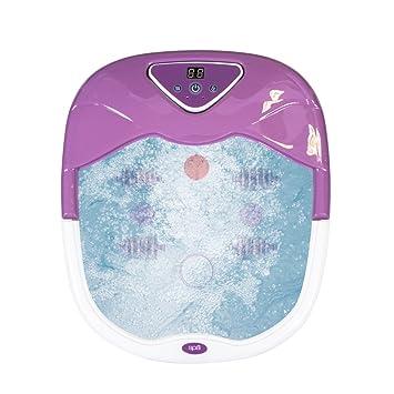 HoMedics FS-505 Hidromasaje de pies XL con dispensador sales de baño, piedra pómez, conservar y calentar el agua: Amazon.es: Salud y cuidado personal