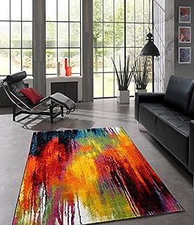 Teppich Wohnzimmer Modern Splash Belis 20739 110-Multi -160x230cm ...